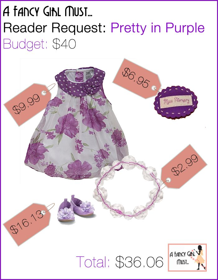 Reader Request: Pretty in Purple for Infant Girl | AFancyGirlMust.com