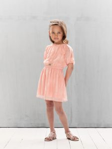 Pale Cloud Emma Dress