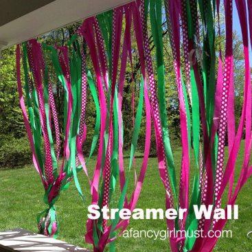 Streamer Wall | AFancyGirlMust.com