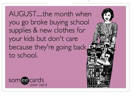 Back to school humor via Cake It Up, LLC