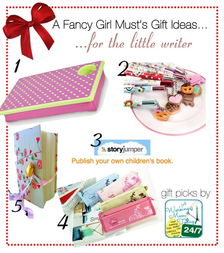 2013 Holiday Guide: Gifts for the Little Writer | AFancyGirlMust.com