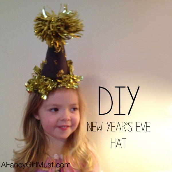 DIY New Year's Eve Hat | AFancygirlMust.com