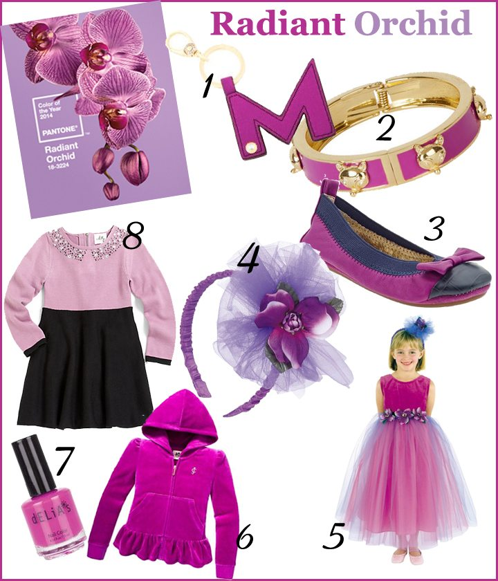 Trendspotting: Pantone 2014 Color of the Year Radiant Orchid