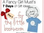 2014 Holiday Gift Guide: Gifts for the Little Bookworm