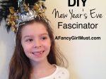 DIY New Year's Eve Fascinators | AFancyGirlMust.com