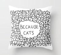 because-cats-pillows