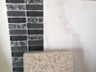 Backsplash, Tile and Quartz Countertop for Kitchen