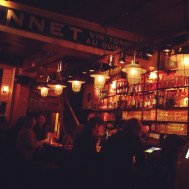 The Bruges bars are great. Packed, warm, cosy, and hundreds of beers.