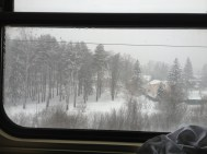 View out of the window...