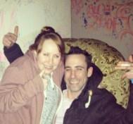 Amy and Joe at FUBAR!