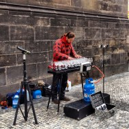 Had to mention this guy... By far the best (granted, also the only) glasses player we've ever seen. Playing classical stuff by Johan Strauss and the like - Utterly Jaw dropping. Sounded like half an Orchestra, and just had about 30 wine glasses with different amounts of water in...