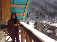 A balcony you can stand on while your brew goes cold in 30 seconds... if you like