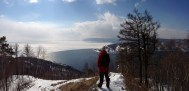 Playing with the panorama on the phone. Actually works pretty well.