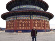 In the Temple of Heaven. Neither a temple, nor in fact, in heaven.