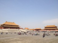 Forbidden City - So called as it was off limits to all but the emperors and ruling elite for hundreds of years through the Ming and Qing dynasities.