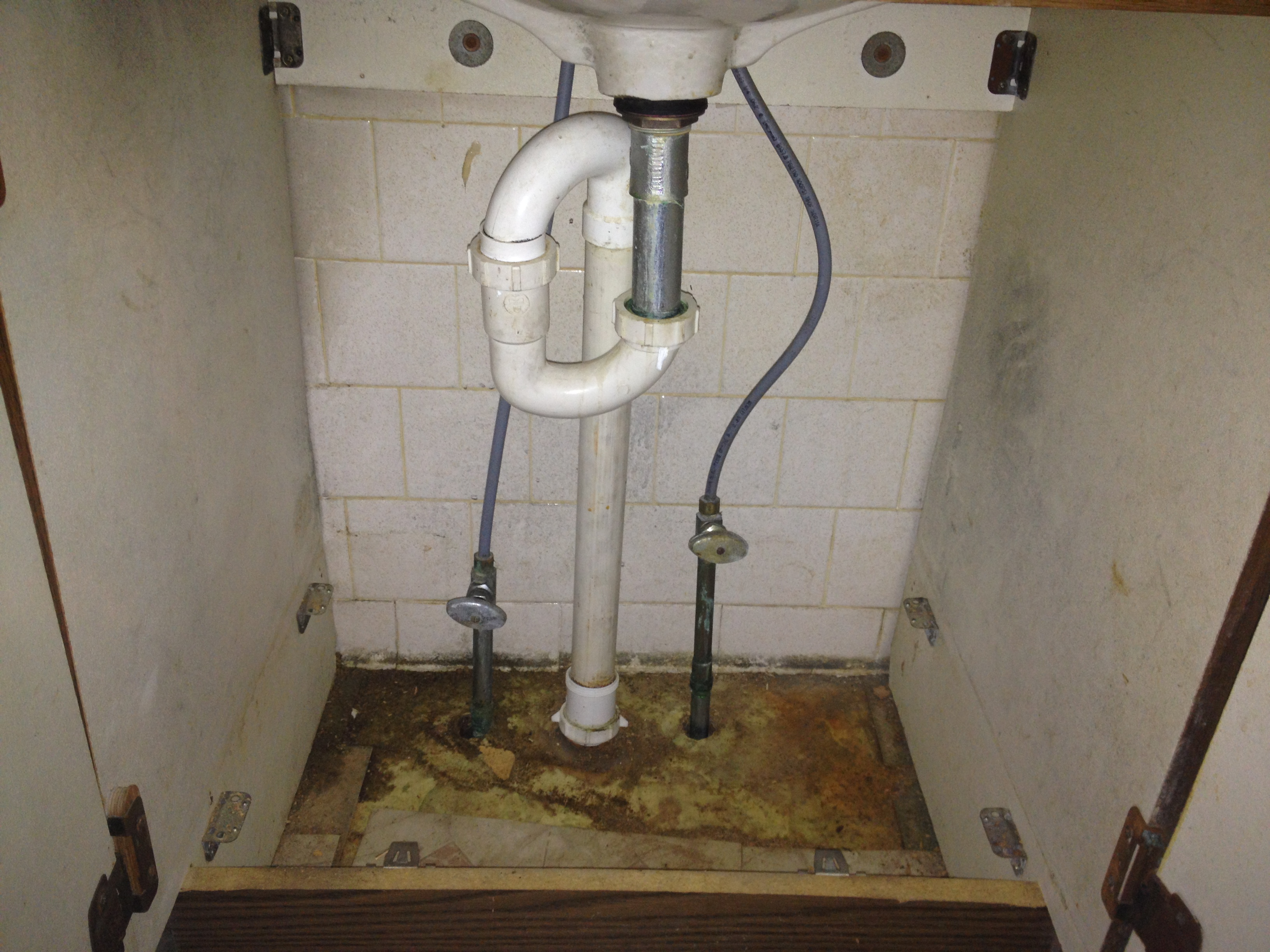 Replacing The Bathroom Sink