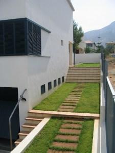 Casa en Colonia de Sant Pere. Acceso a piscina y terraza interior.