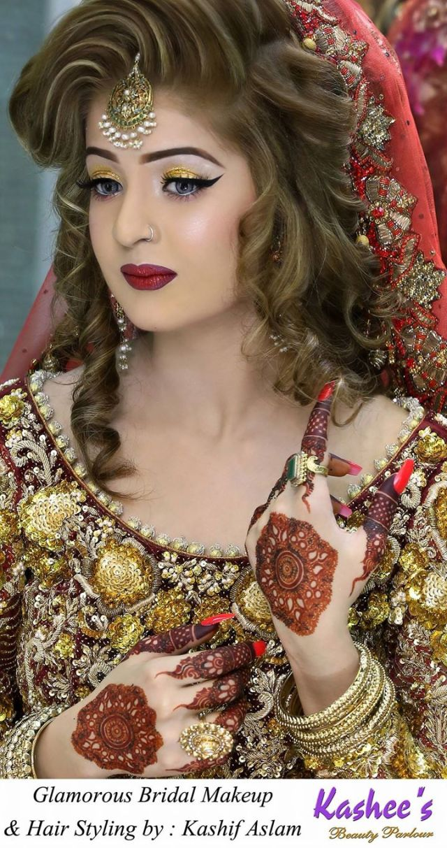 latest bridal makeup by kashee's beauty parlour - fashion world