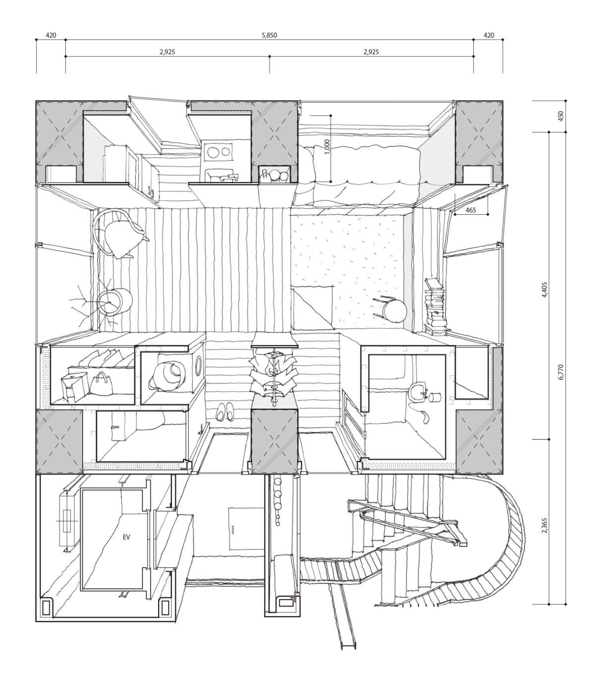 Hiroyuki Ito Tatsumi Apartment House Tokyo 16