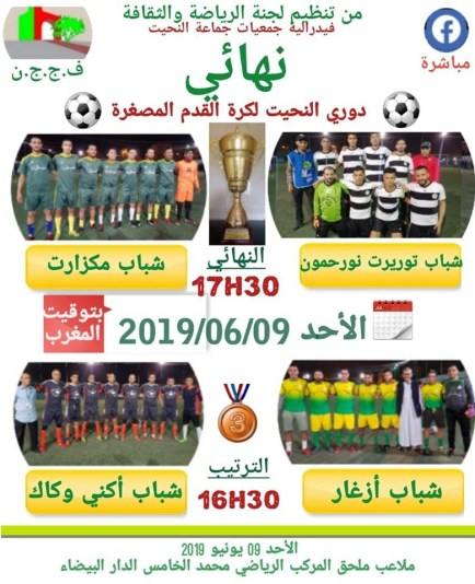 62486921_2707387679303689_1442054012869279744_n نهائي دوري النحيت لكرة القدم المصغرة sport
