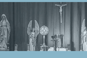 Adoration at Women's Alone with God Retreat