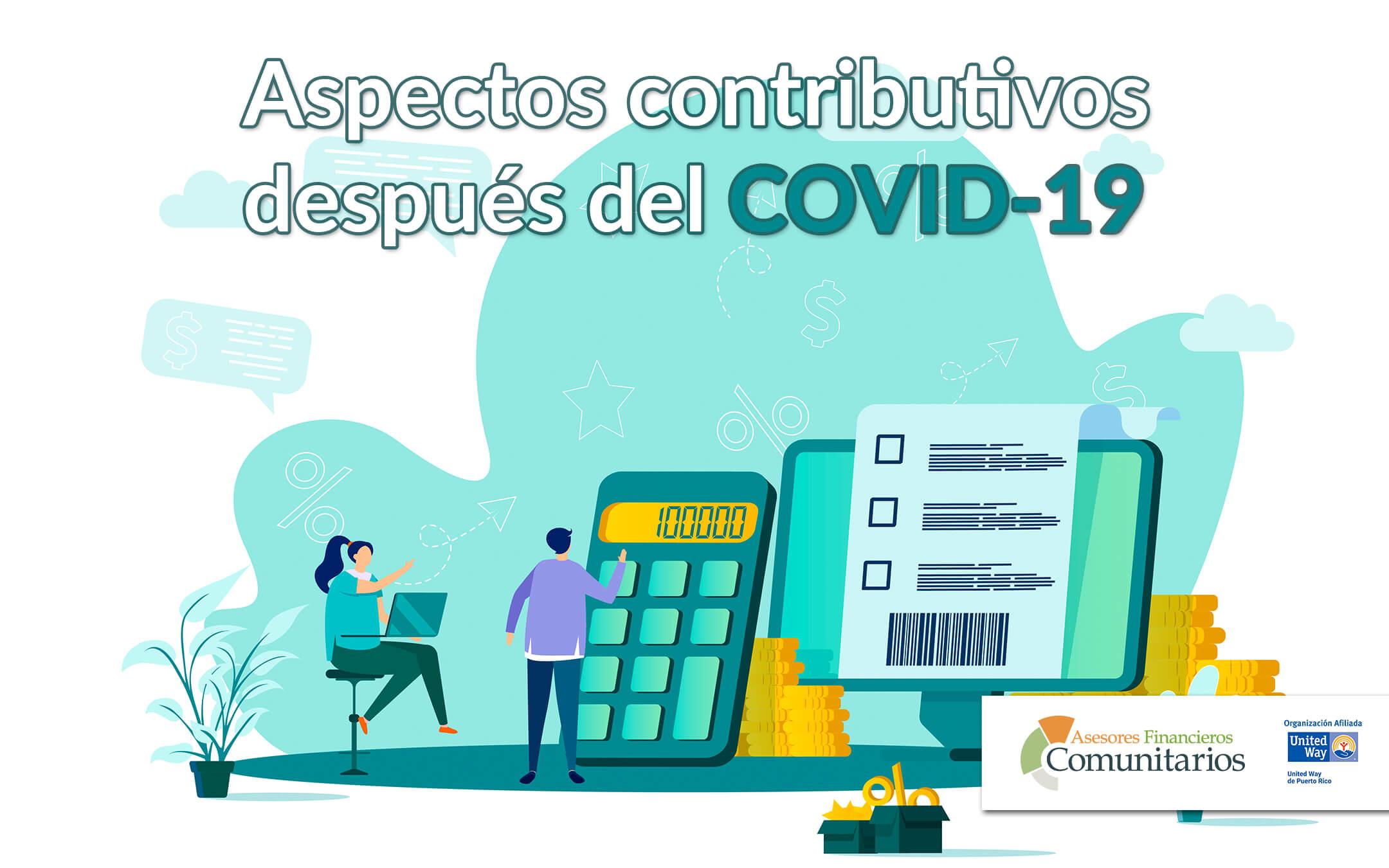 Aspectos contributivos después del COVID-19