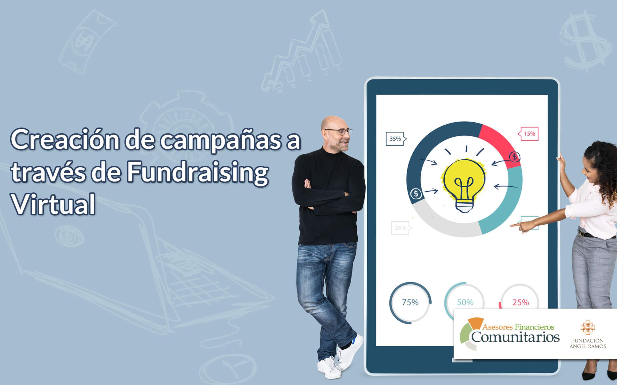 Creación de campañas a través de Fundraising Virtual