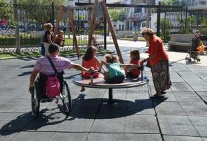 En Fuengirola (Málaga) ya cuentan con parques adaptados