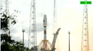 Momento en el que un satélite es enviado con éxito el pasado 10 de julio. Fuente 03b Networks