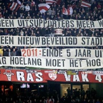 Ajax-supporters wederom de sjaak