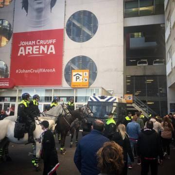 Politieoptreden voorafgaand Ajax – Juventus