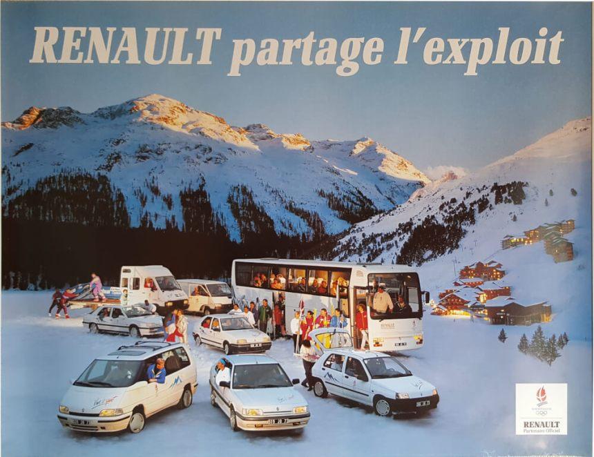 Affiche Renault Club Coubertin