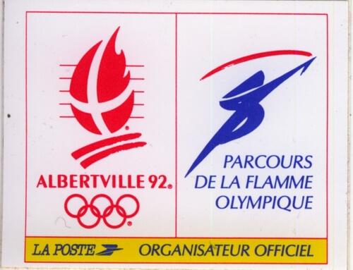 Sticker La Poste Club Coubertin