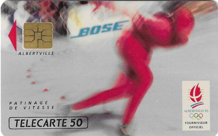Télécarte Bose