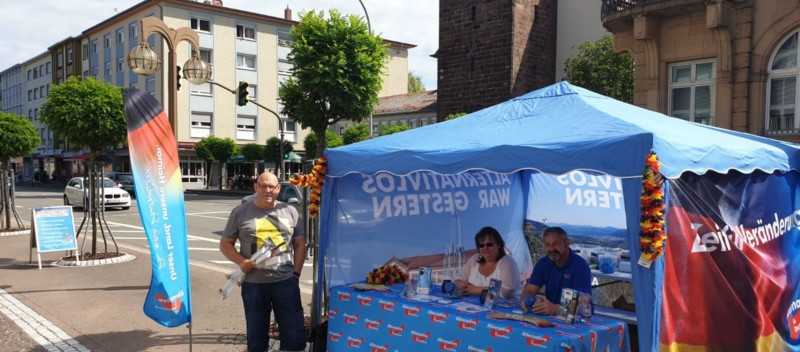 Infostand am 06.07.2019 in Pirmasens