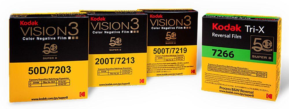 Kodak Super 8, ritorna la mitica videocamera in voga negli anni 70