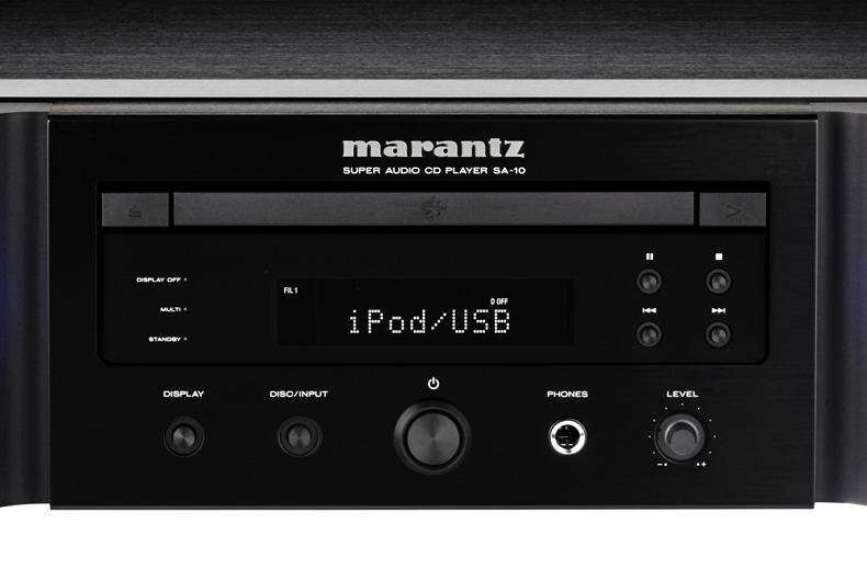 Marantz SA-10: raffinatezza ed eccellenza al potere