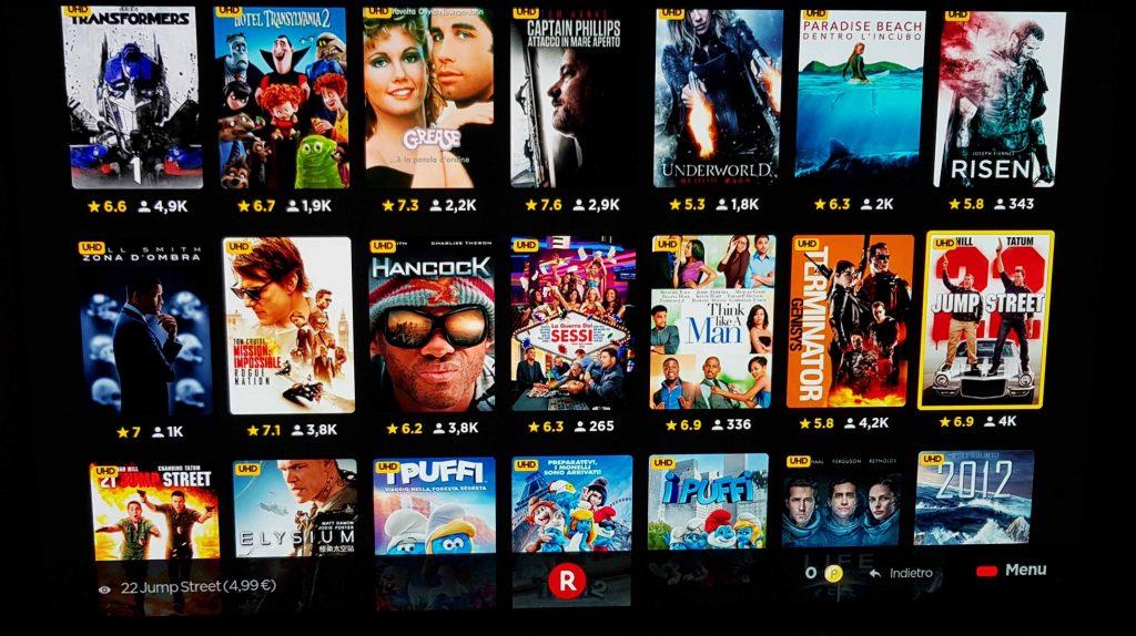 Rakuten TV: oltre 100 film disponibili in streaming 4K