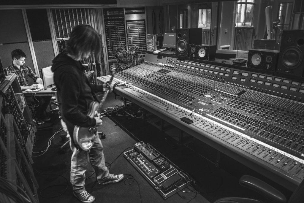 Steven Wilson studio