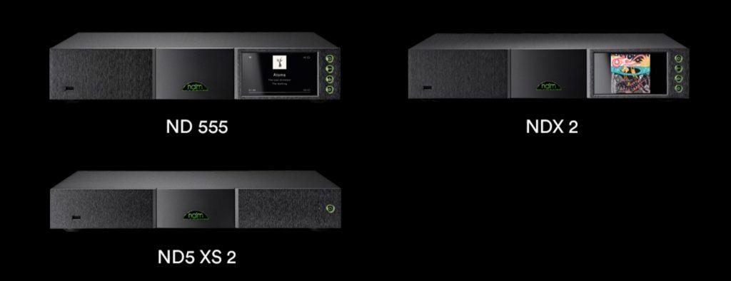Naim vola alto con i nuovi streamer hi-res ND 555, NDX 2 e ND5 XS2