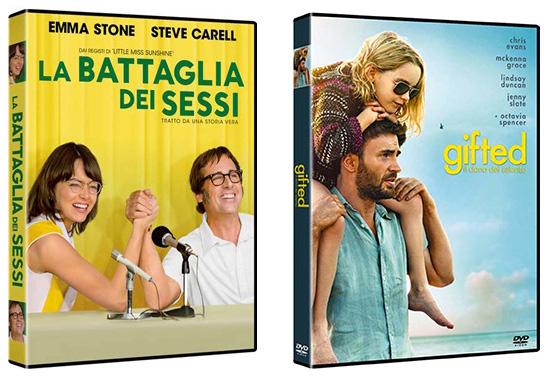 Battaglia dei sessi - Gifted DVD