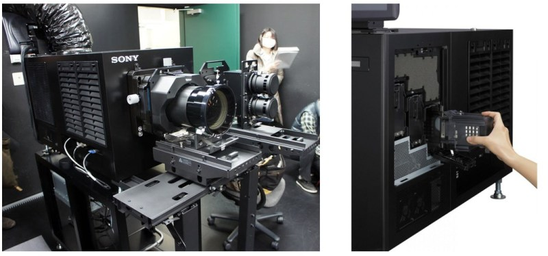 D-Cinema - Digital projection Booth