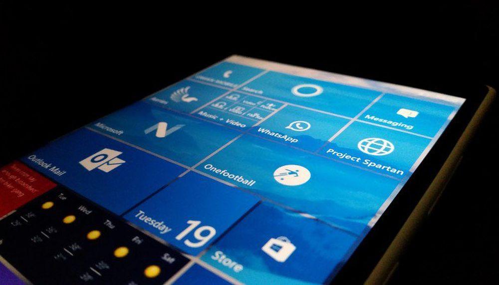 Windows 10 Mobile vede avvicinarsi la fine