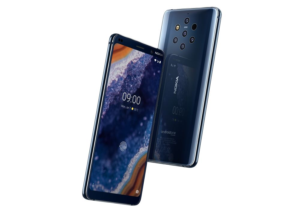 Nokia 9 PureView, le cinque fotocamere sono realtà