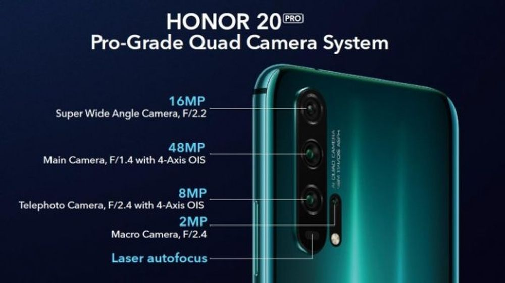 Honor20 camera