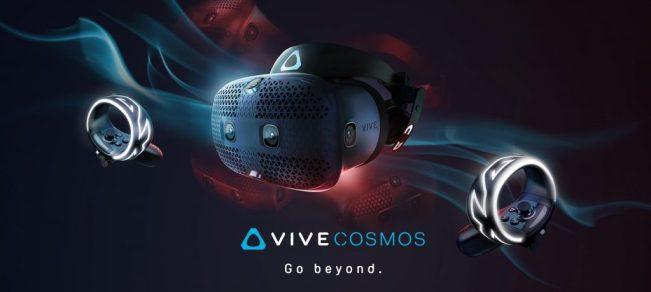 HTC Vive Cosmos: il nuovo visore VR arriva il 3 ottobre a 799 euro