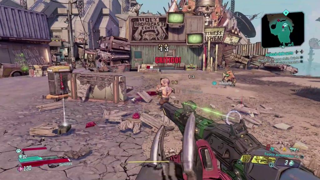 BORDERLANDS 3 – Home Theater Test PS4 Pro