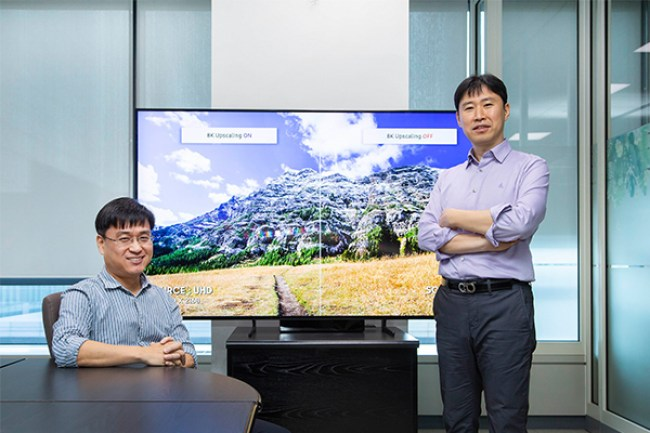 Samsung investe sul deep learning per l'upscaling in 8K