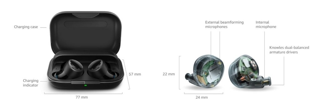 Auricolari true wireless Amazon Echo Buds – La recensione