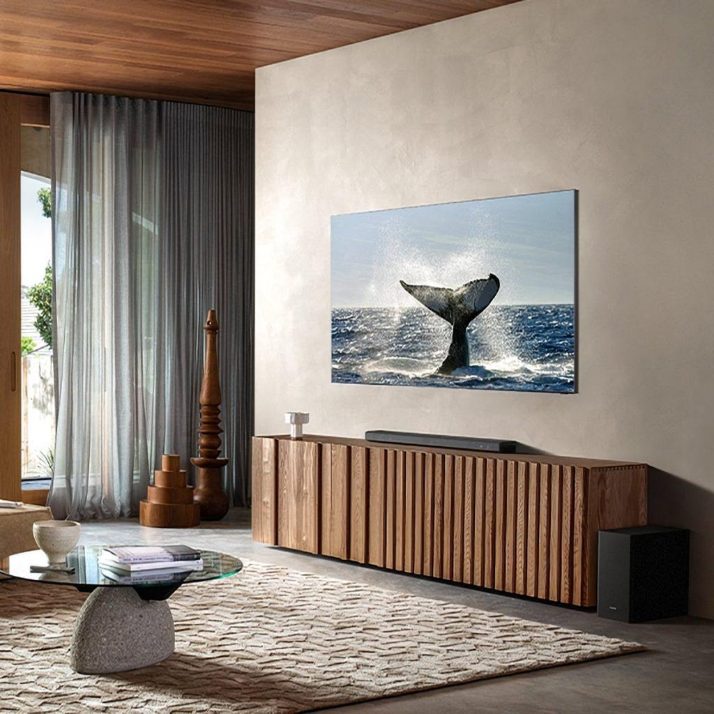 A Samsung non piacciono le cornici: ecco il Zero Bezel TV